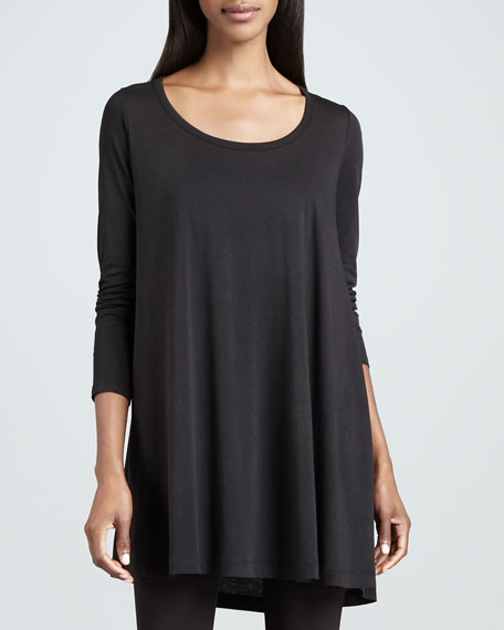 Scoop-Neck Tunic