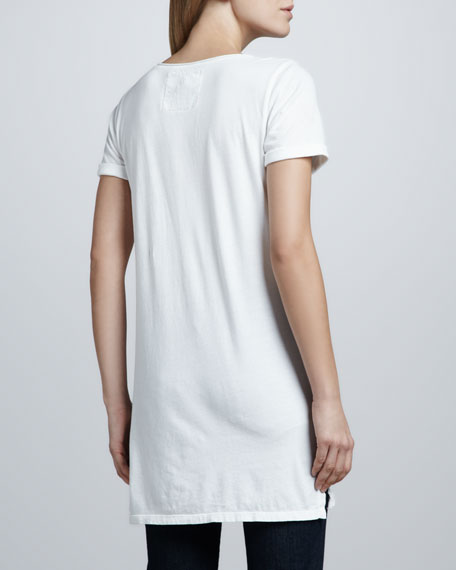 Smith V-Neck Long Tunic