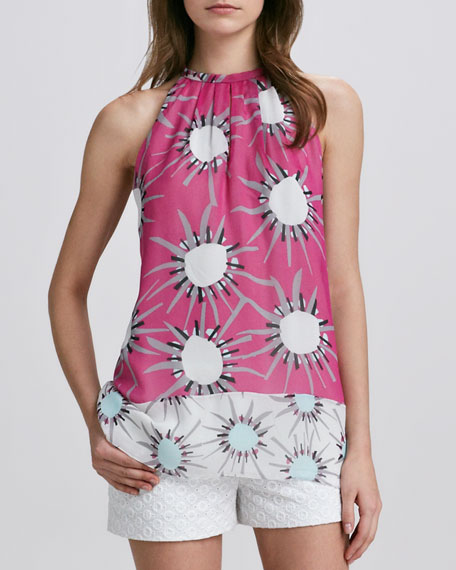 Lainey Printed Halter Top