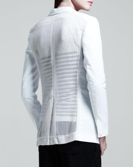 42nd Street Mesh-Back Blazer