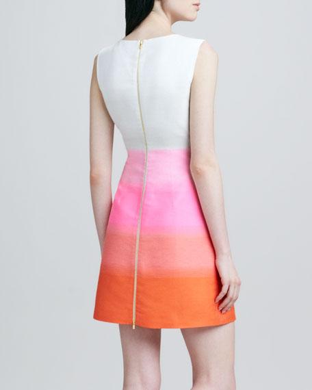 Capreena 2 Gradual Striped Dress