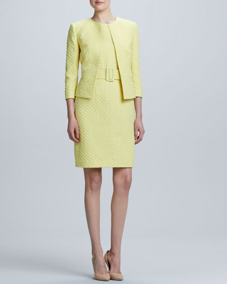 Sleeveless Dress & Jacket