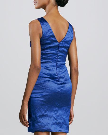 V Neck Cocktail Dress