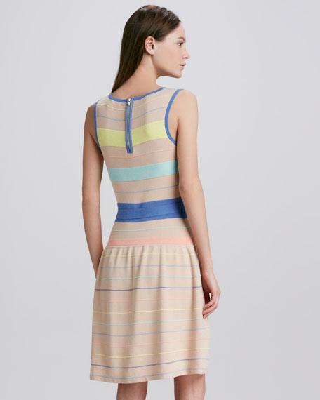 Farah Striped Sweaterdress