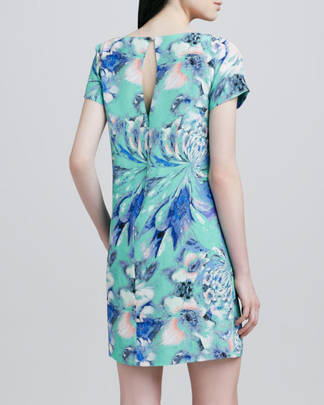 Selma Floral-Print Shift Dress
