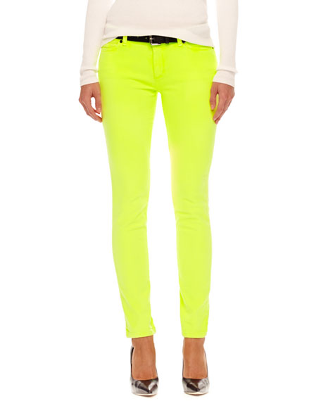 Neon Skinny Jeans
