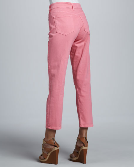 Alisha Fitted Ankle Jeans