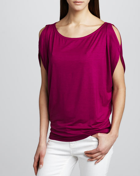 Shoulder Cutout Tunic