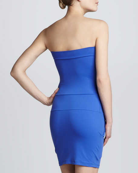 Strapless Pocket Dress