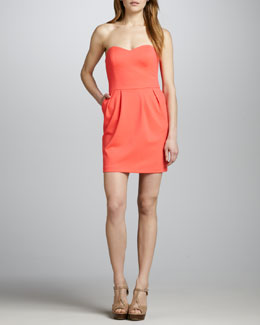 Amanda Uprichard Strapless Dress
