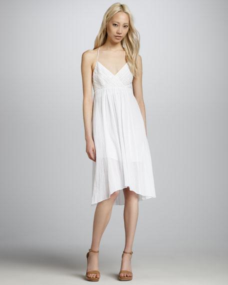Gauze Racerback Dress