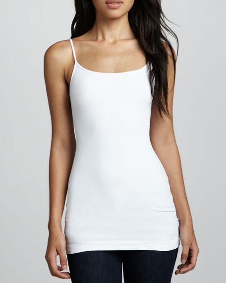 Knit Jersey Camisole, White