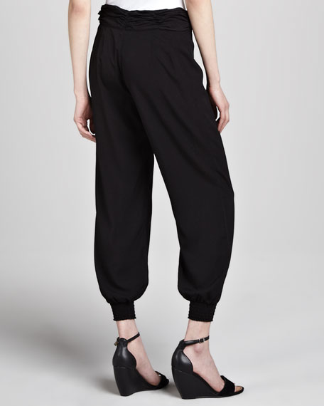 Barlow Smock-Cuff Pants