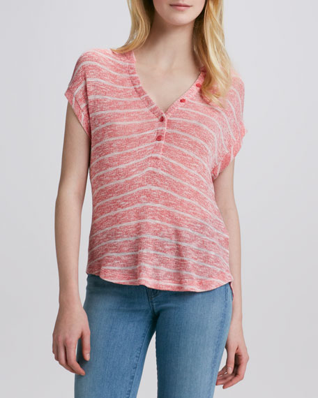 Caspian Striped Loose Tee