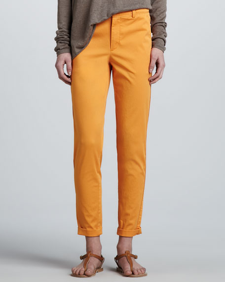 Relaxed Boyfriend Trousers