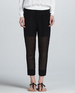 Vince Relaxed Sheer Pants