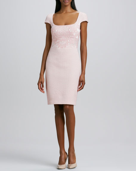 Textured Cocktail Dress