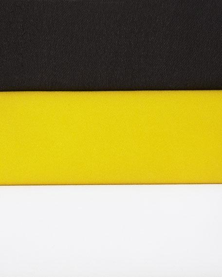Semisheer Cap-Sleeve Blouse