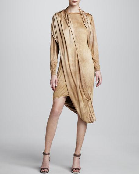 Jersey Serape Dress