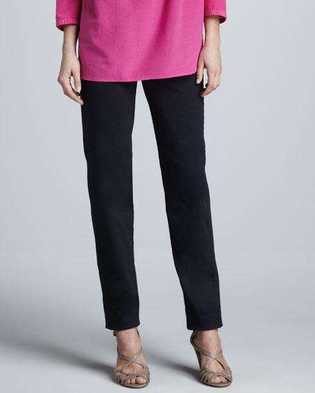 Slim-Cut Pants