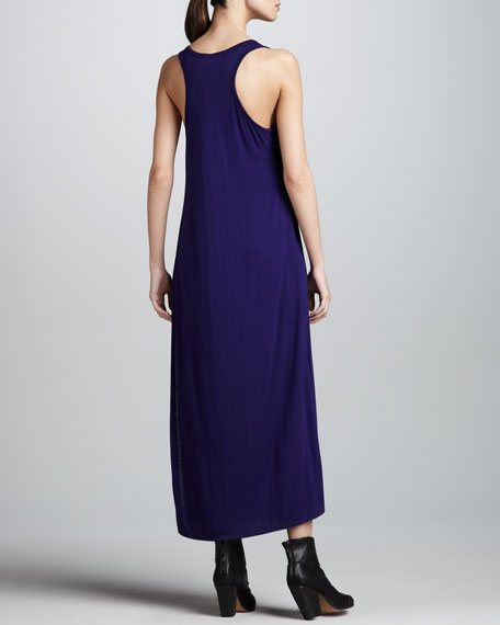 Sleeveless Jersey Maxi Dress