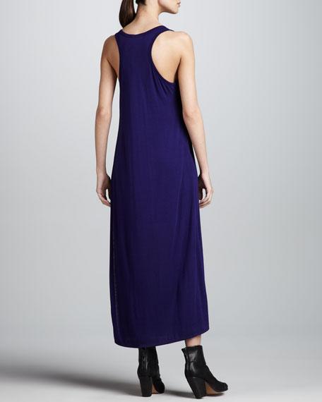 Sleeveless Jersey Maxi Dress