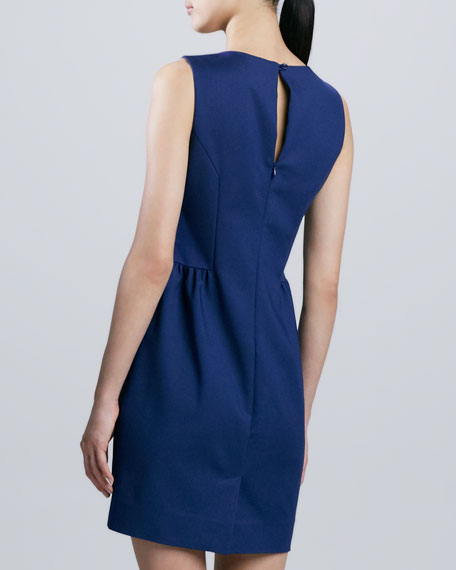 rhys sleeveless sheath dress