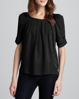Joie Eleanor Silk Blouse