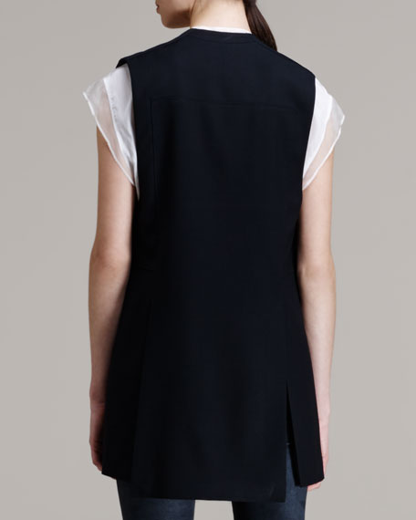 Ark Leather-Tab Suiting Vest
