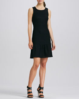 Phoebe Couture Sleeveless Fit-and-Flare Dress