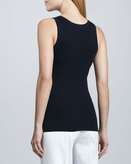 Combed Cotton-Blend Tank