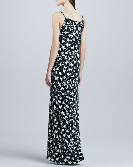 Jeannie Printed High-Low Dress