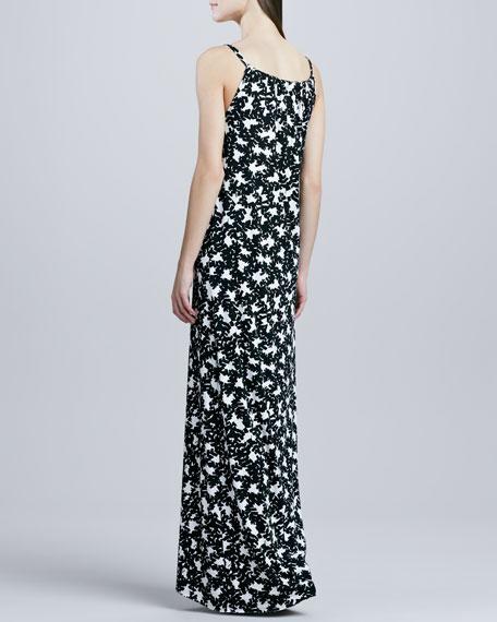 Jeannie Printed High-Low Dress, Women's