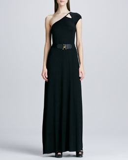 Rachel Pally Emmanuella One-Shoulder Maxi Dress