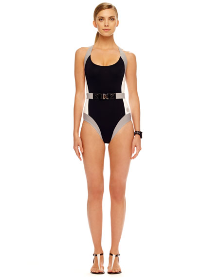 Racerback Scuba One-Piece