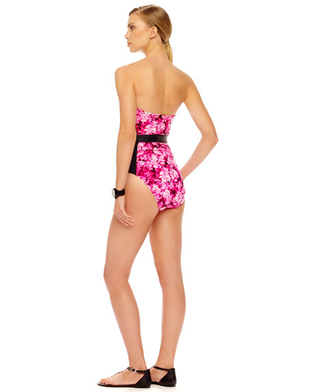 Chatsworth Floral-Print One-Piece