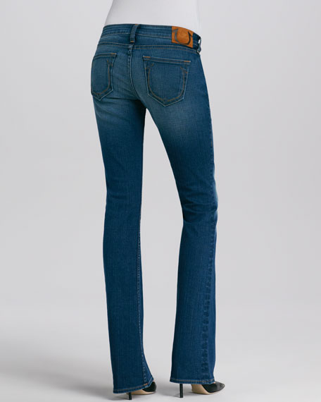 Bobby Slim Boot-Cut Jeans