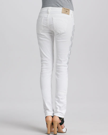 Stella Stud-Embellished Jeans