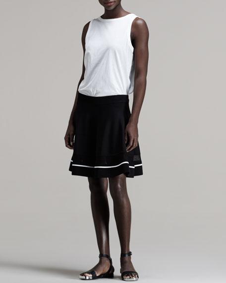 Kruse Contrast-Stripe Skirt