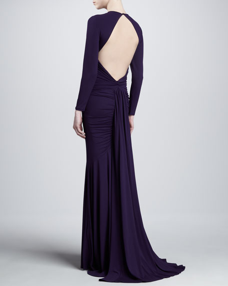 Matte Jersey Goddess Gown