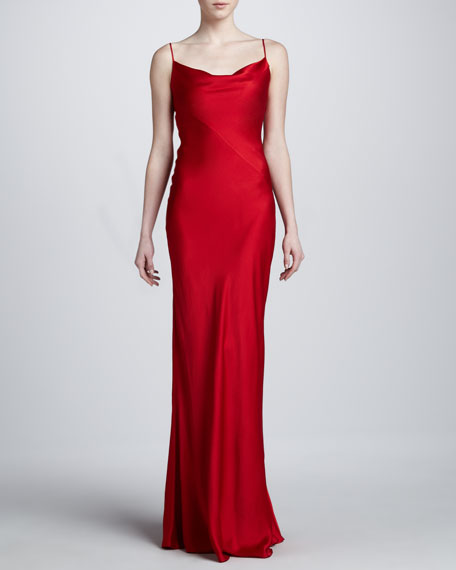 Charmeuse Bias Gown