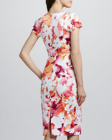 Gypsy Cap-Sleeve Sheath Dress