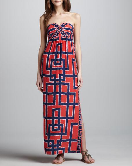Ireland Strapless Maxi Dress