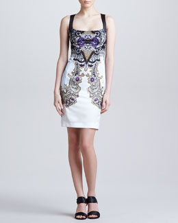 Just Cavalli Sleeveless Sheath