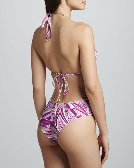 Chicago Deep-V One-Piece, Pink