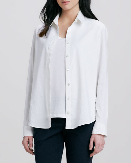 Tritta Button-Down Blouse