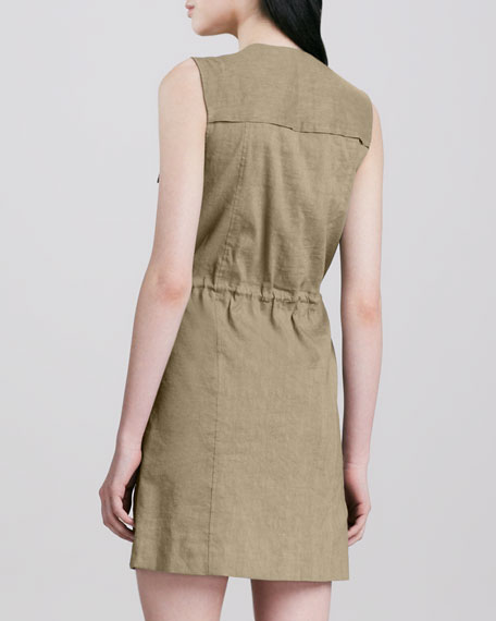 Sebiya Cinch-Waist Dress
