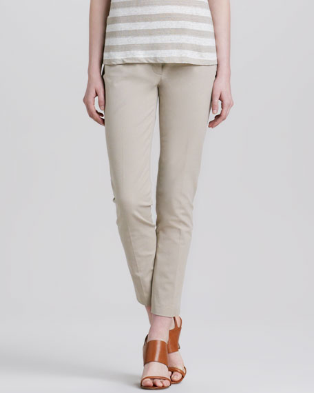 Leska Slim Twill Trousers