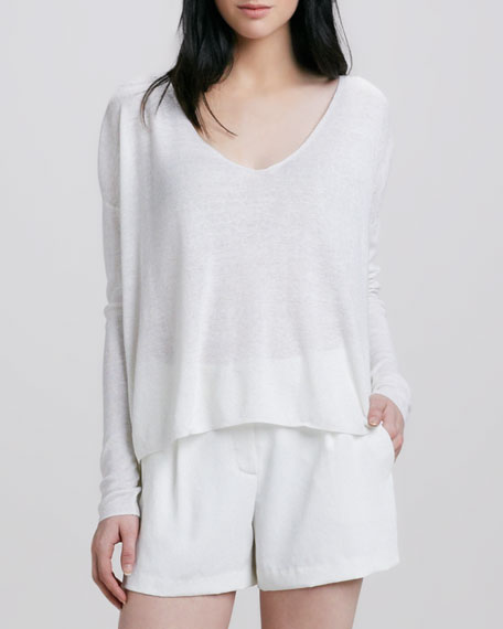 Randelle Slub-Knit Top