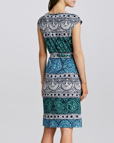 Kalvin Printed Jersey Dress